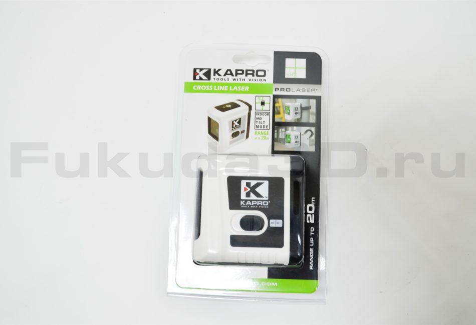 Лазерный уровень KAPRO 862G с зеленым лучом - упаковка