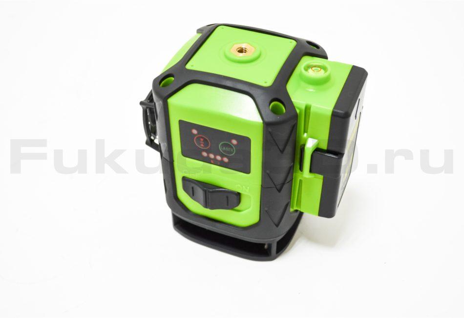 Лазерный уровень Fukuda 3D MW-93D-3GJ с зеленым лучом