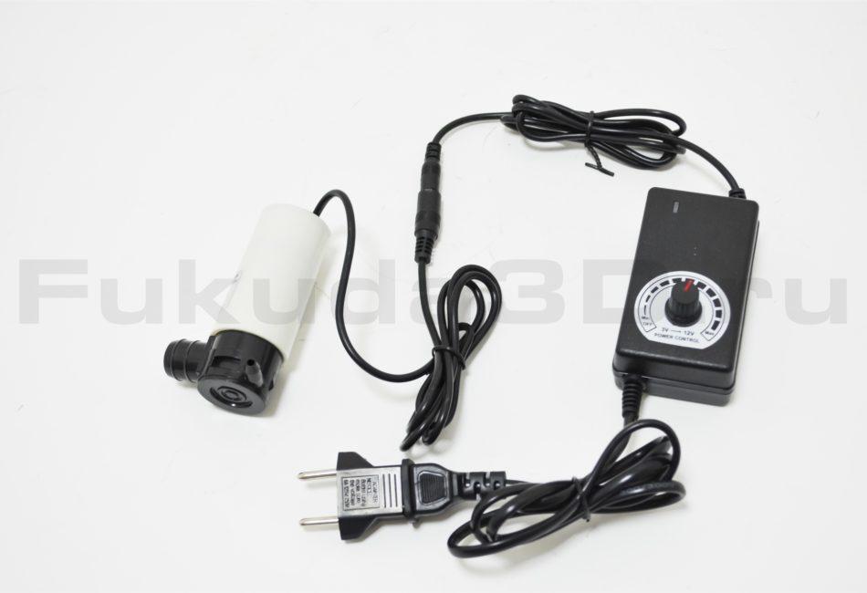 Электрический насос с регулятором подачи воды для алмазного бурения