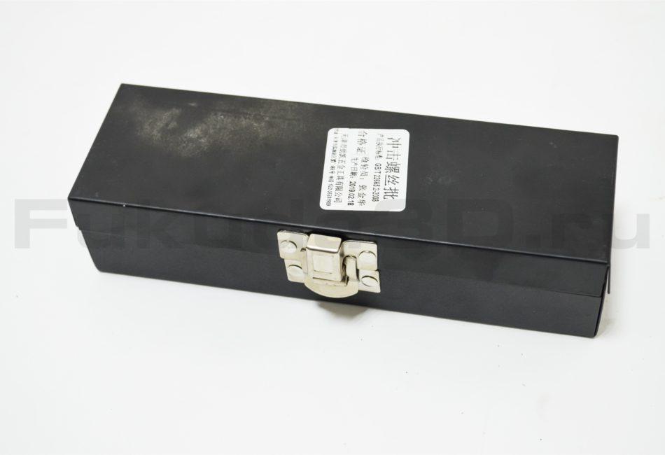 Ударная отвертка поставляется в металлическом кейсе