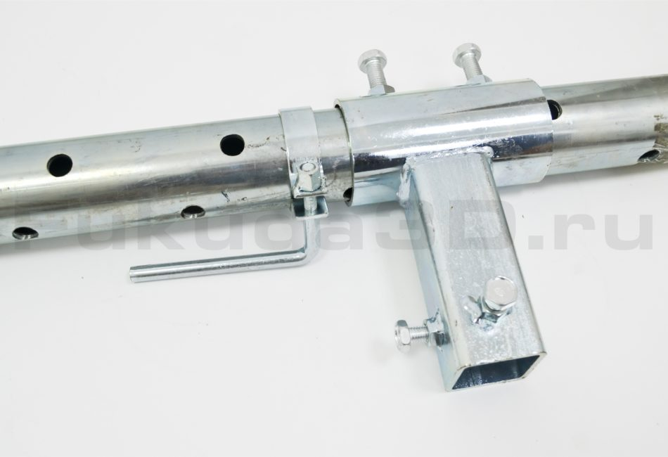 Телескопическая распорная штанга для установок алмазного бурения