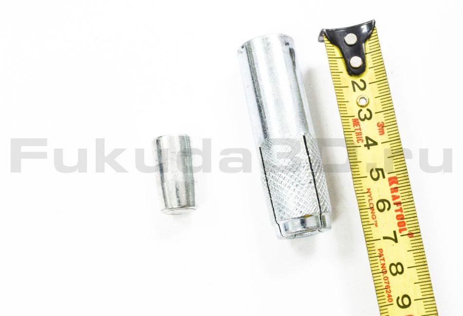 Анкер забивной М16 размер 20x65 для алмазного бурения