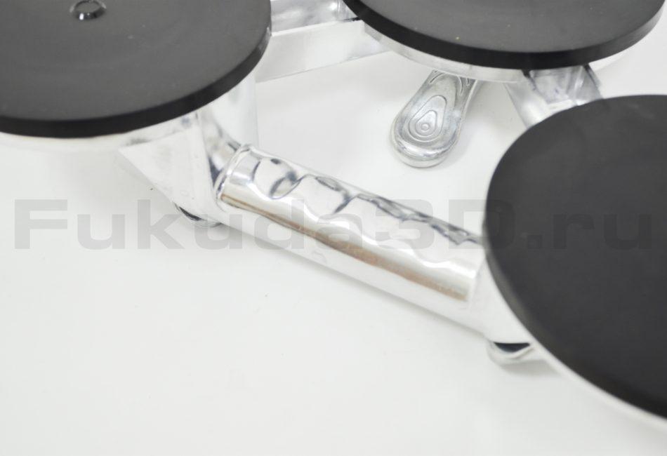 Мощный металлический стеклодомкрат тройной