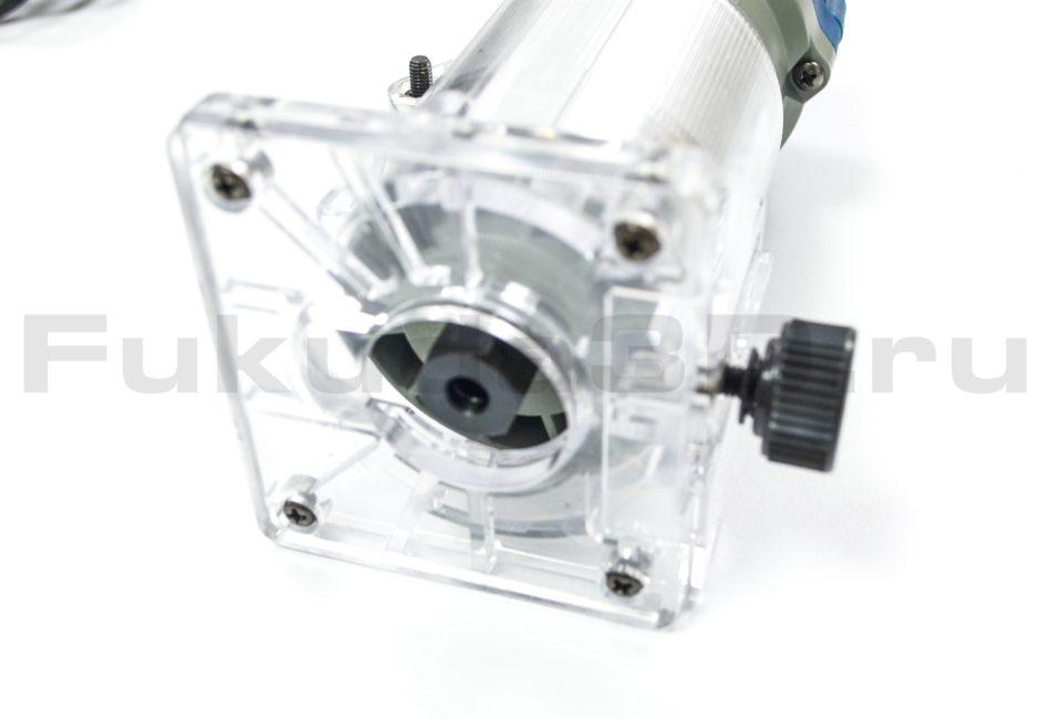 Кромочный фрезер DongCheng 550W с цангой 6,35 мм
