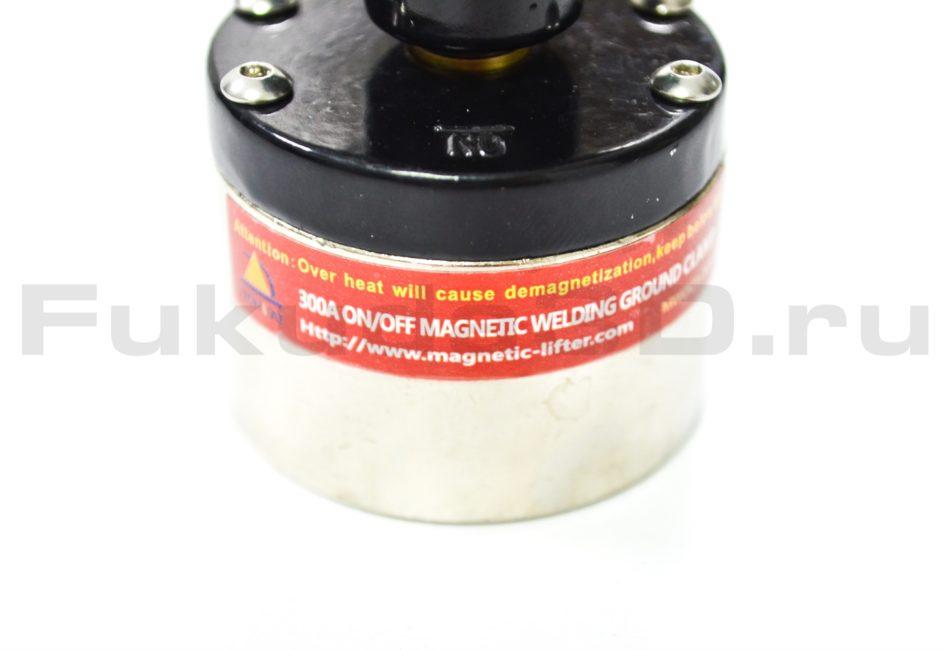 Отключаемая магнитная масса для сварки 300A фото