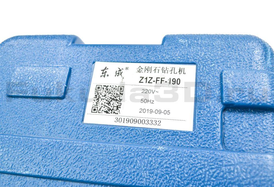 Установка алмазного бурения DongCheng Z-1-Z FF 190