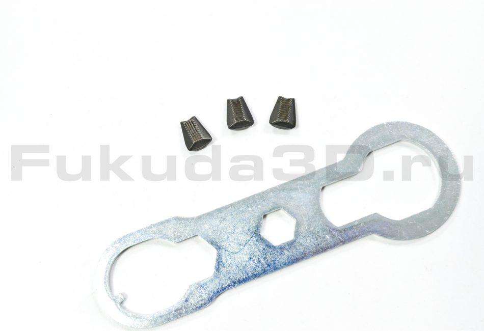 Электрический заклепочник Time-Proof TAC 700 - комплект губок и ключ