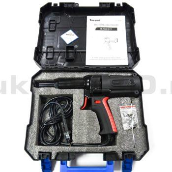 Электрический заклепочник Time-Proof TAC 700 поставляется в кейсе