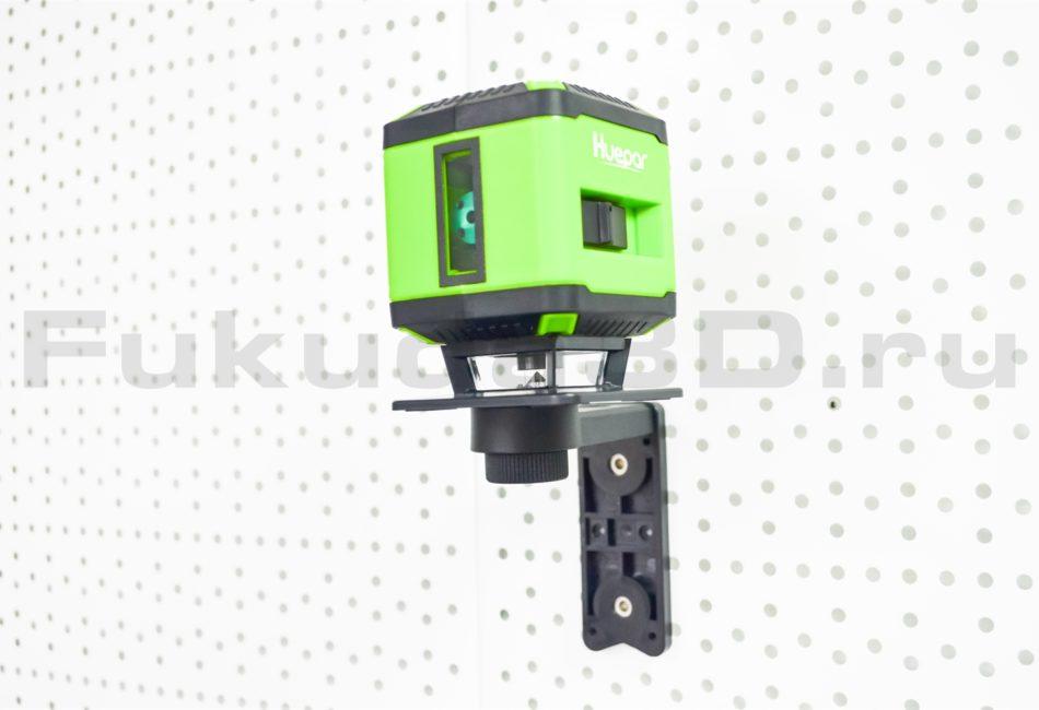 Лазерный уровень Huepar FL-360G с магнитным кронштейном