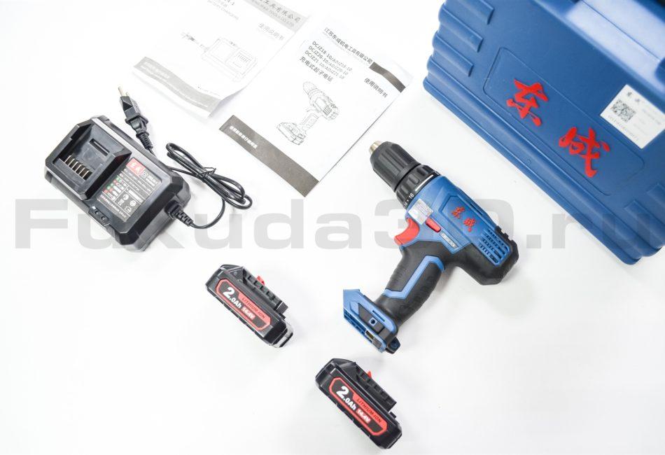 Дрель-шуруповерт DongCheng 14,4V 2.0 Ач - фото, характеристики, цена, отзывы