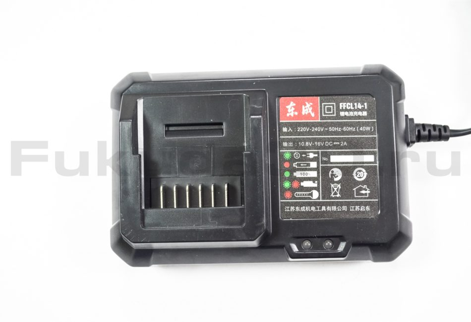 Дрель-шуруповерт DongCheng 14,4V 2.0 Ач - фото, характеристики, цена