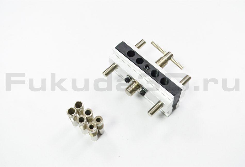 Мебельный кондуктор для сверления отверстий под шкант 6/8/10 мм