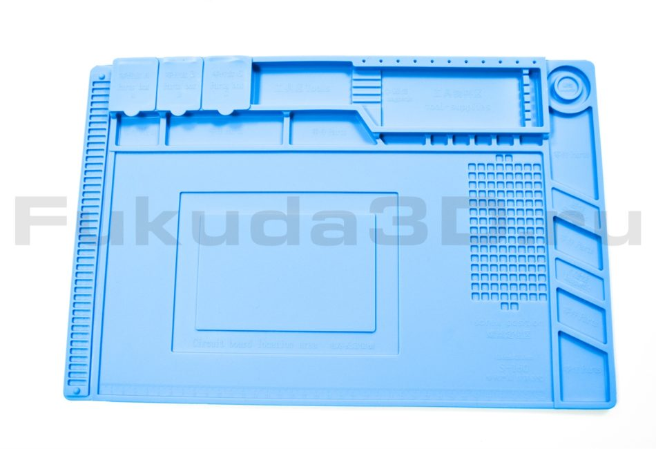 Термостойкий силиконовый коврик для пайки купить по выгодной цене