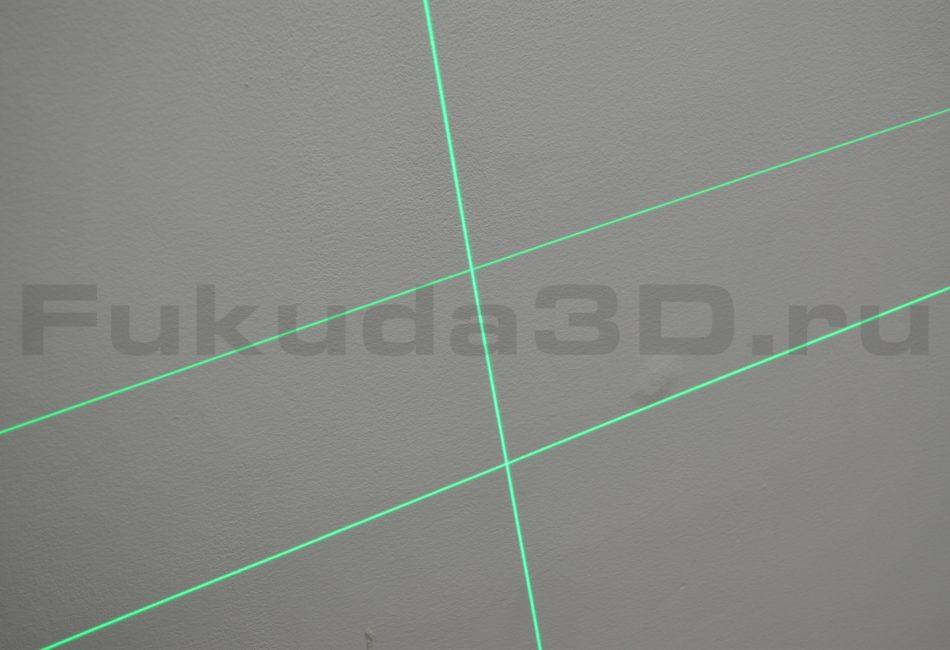 Купить лазерный уровень Fukuda 4D модель MW-94D-4GX (16 линий) имеет два горизонта на 360 градусов