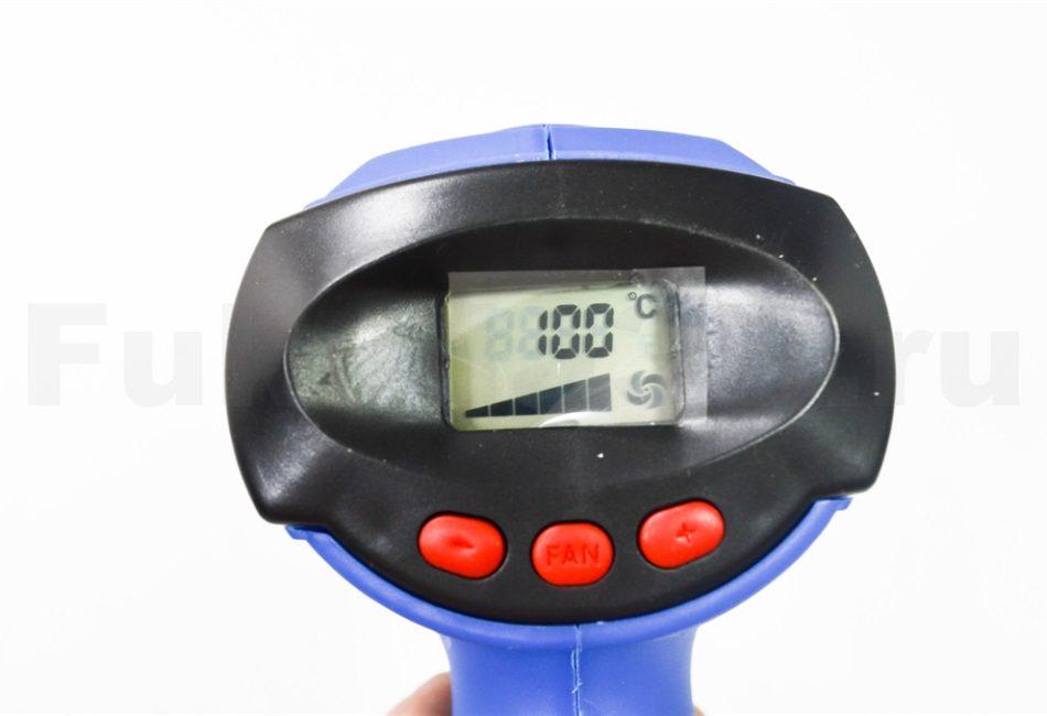 Строительный фен BOKER BK986 - характеристики