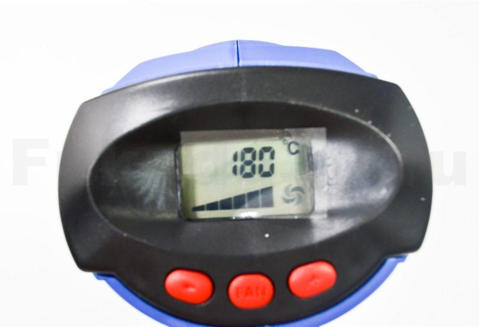 Строительный фен BOKER BK986 - управление