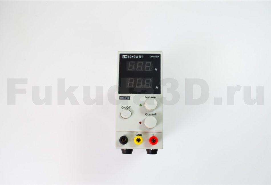 Лабораторный блок питания Longwei LW-K3010D выходное напряжение 30V и 10A