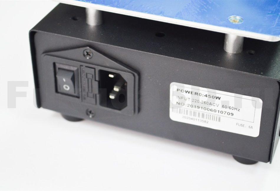 Вакуумный сепаратор дисплеем Ansai 918D с регулятором температуры и ЖК дисплеем