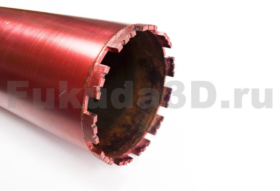 Алмазная коронка по бетону, кирпичу 132 мм - купить с доставкой