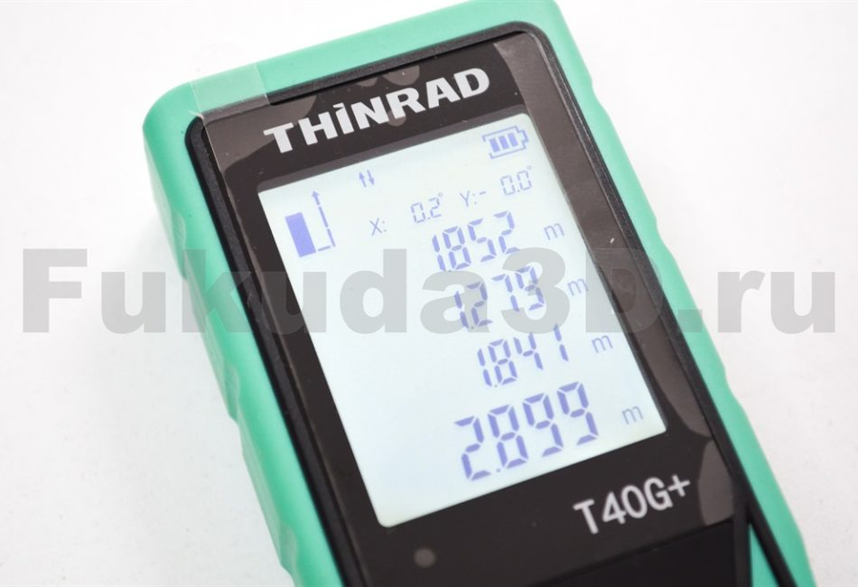 Лазерный дальномер THINRAD T40G+ подсветка экрана и встроенный угломер