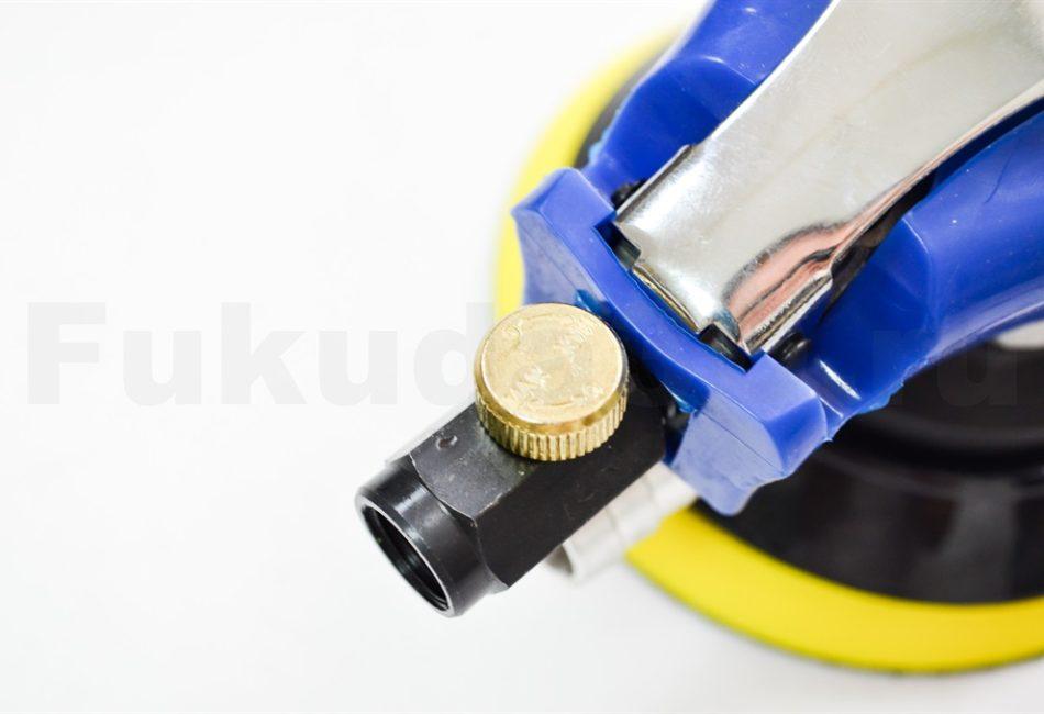 Пневматическая шлифовальная машинка с вакуумом (без пыли)