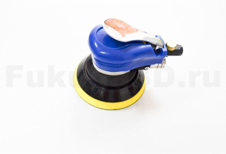 Пневматическая шлифовальная машинка с вакуумом (пылесос не нужен)