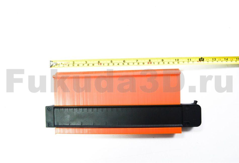 Профессиональный контурный шаблон с фиксацией 250 мм - купить по выгодной цене