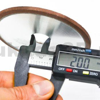 Диск для снятия верхнего слоя 100x20x4мм для Wandeli с посадочным 20 мм