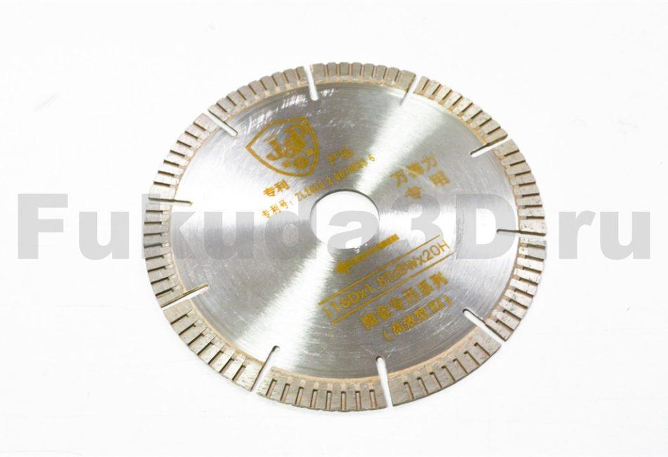 Диск алмазный J&P 116×20