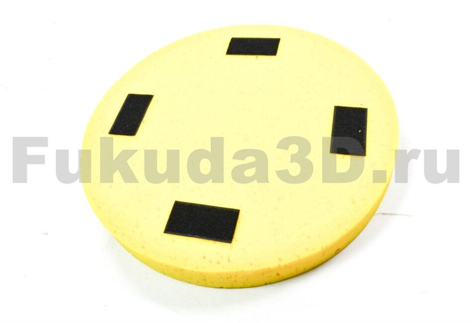 Поролоновый диск для затирки гипсовой штукатурки