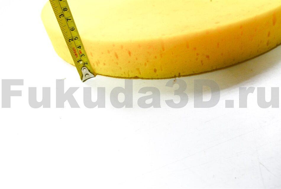 Поролоновый диск для затирки гипсовой штукатурки - купить с машинкой