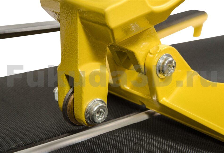 Рельсовый плиткорез МастерАлмаз 600 мм - режущий - ролик на подшипнике