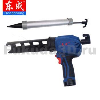 Аккумуляторный пистолет для герметика и клея DongCheng DCPJ12E - купить