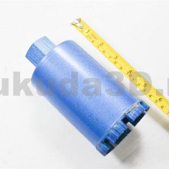 Алмазная коронка для подрозетников М22x2.5 турбо-сегмент для Ken, Dongcheng 76 мм на 150 мм