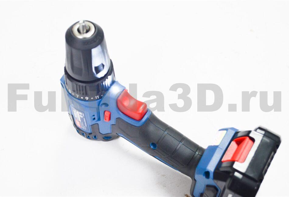 Бесщеточный шуруповерт DongCheng 14.4V с высоким крутящим моментом и подсветкой