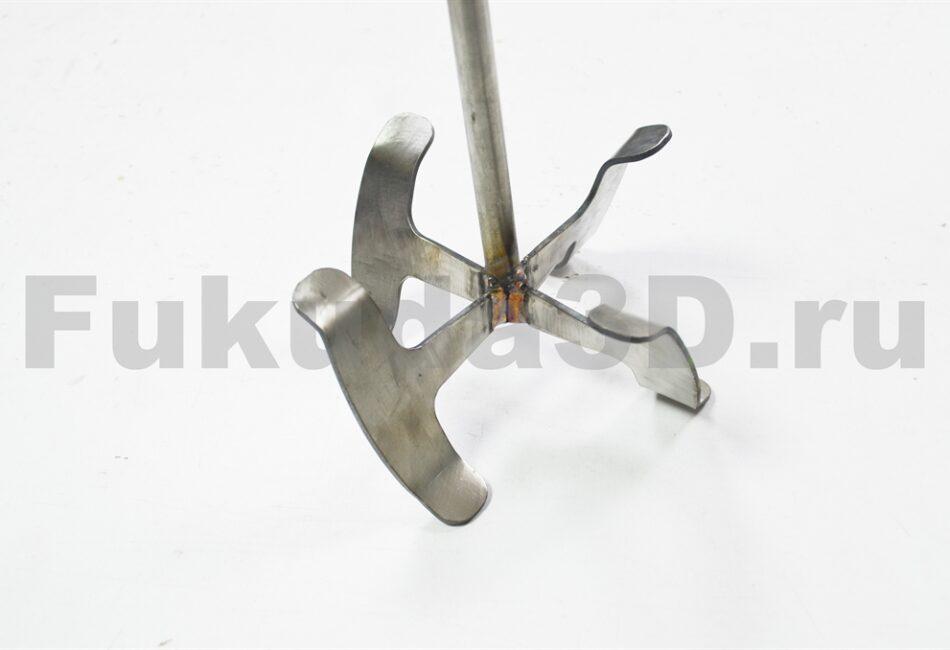 Венчик насадка на миксер для шпаклёвок из нержавейки, аналог Sheetrock, Aspro