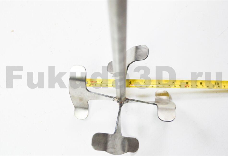 Венчик насадка на миксер для шпаклёвок из нержавейки, аналог Sheetrock, Aspro диаметр 175 мм