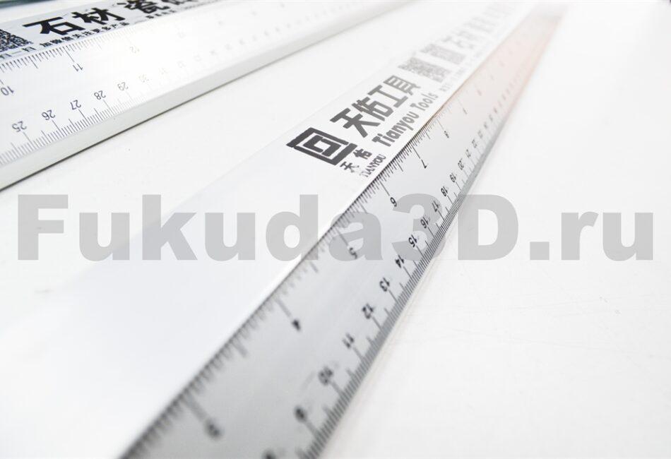 Направляющая шина для циркулярной пилы - фото шкала