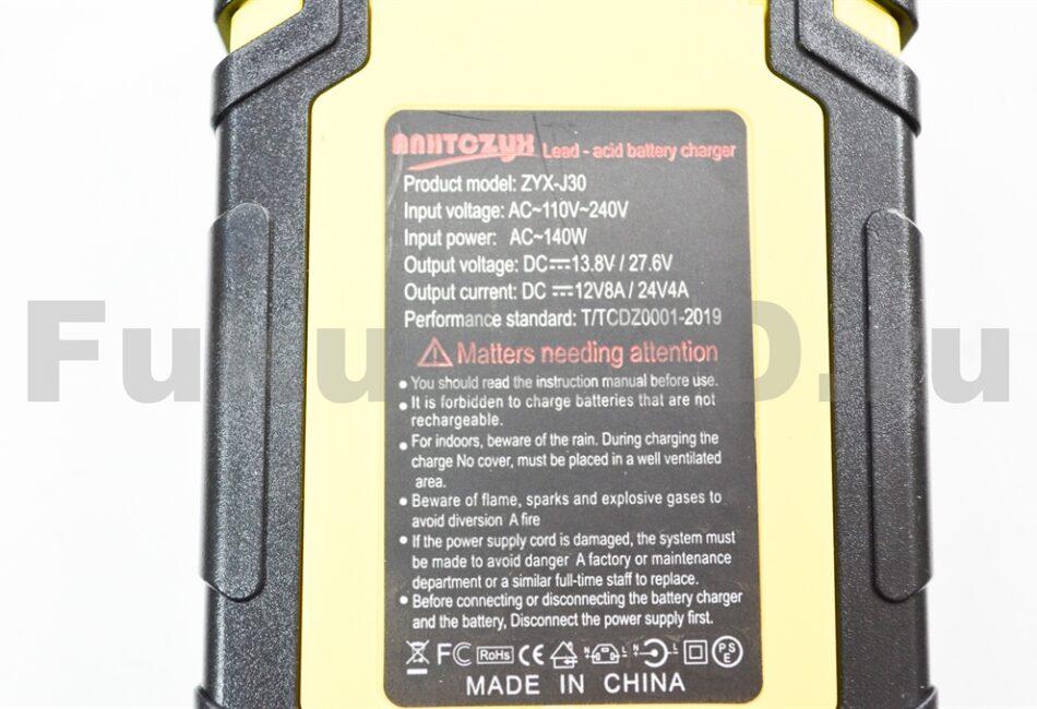 Качественное китайское зарядное устройство для аккумулятора авто 12/24V купить