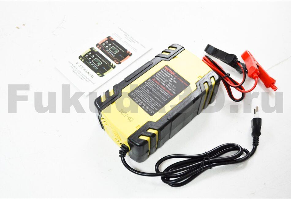 Качественное китайское зарядное устройство для аккумулятора авто 12/24V