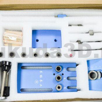 Мебельный кондуктор для шкантов и MINIFIX (стяжка)