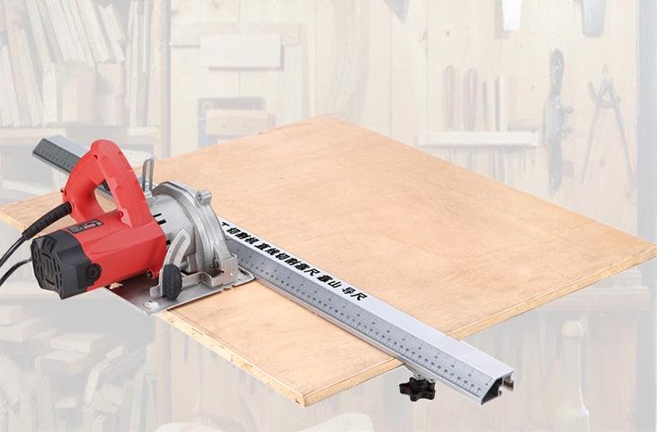 Направляющая шина для циркулярной пилы с зажимами 1,35 и 2,7 метра