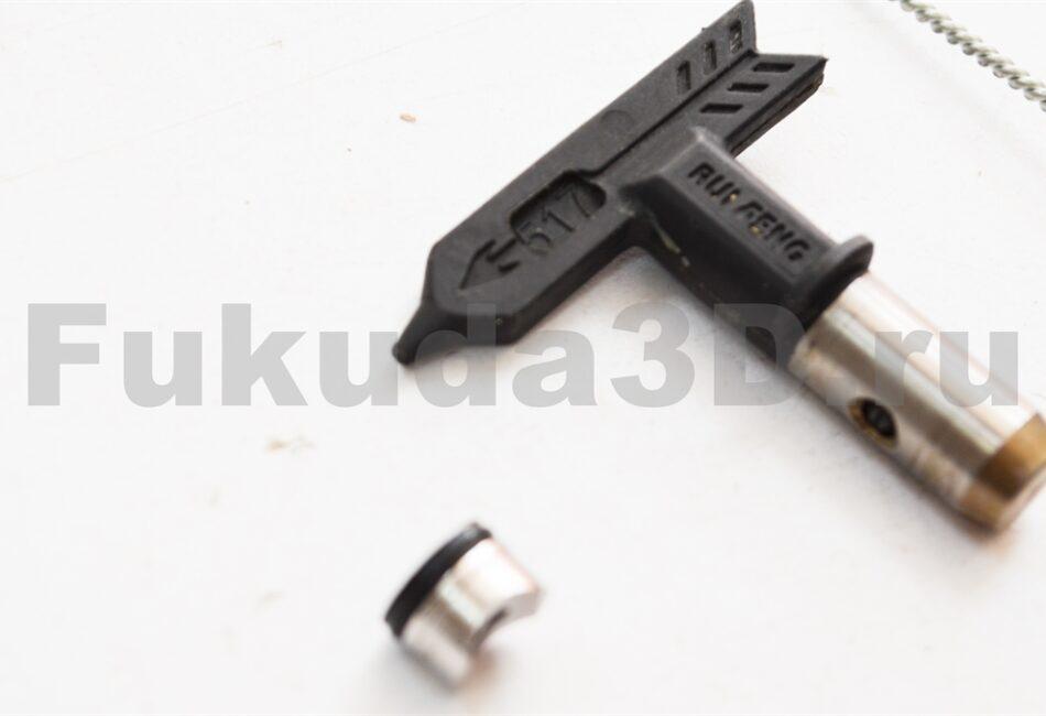 Пистолет для безвоздушного распыления Rongpeng 821 фото сопла