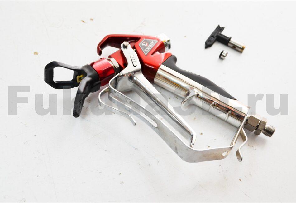 Профессиональный пистолет безвоздушной покраски с соплом в комплекте купить