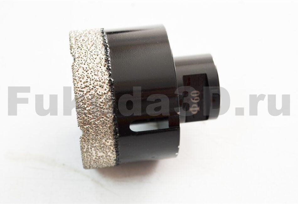 Алмазные коронки по керамограниту для сухого сверления с вакуумной пайкой купить