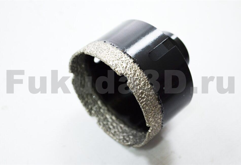 Алмазные коронки по керамограниту для сухого сверления с вакуумной пайкой для УШМ купить