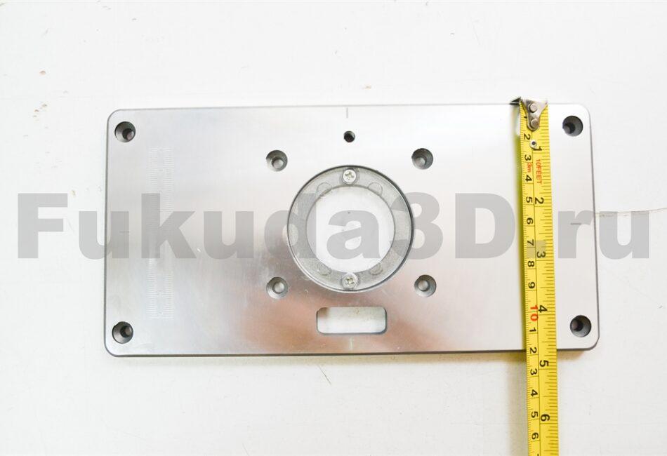 Пластина для установки фрезера в стол размеры