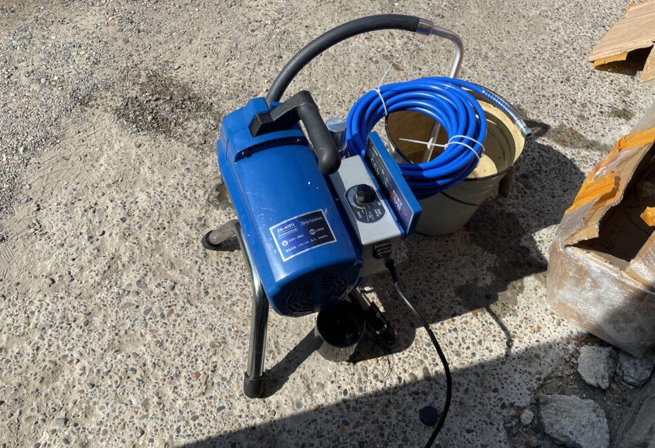 Безвоздушный окрасочный аппарат BAOBA 495 с электронным поддержанием давления