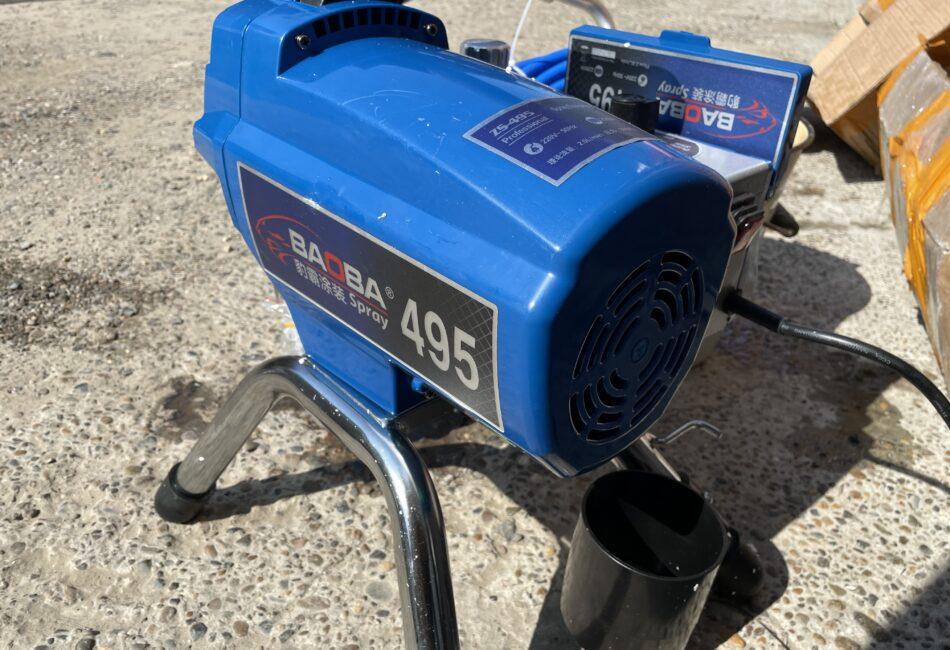 Безвоздушный окрасочный аппарат BAOBA 495