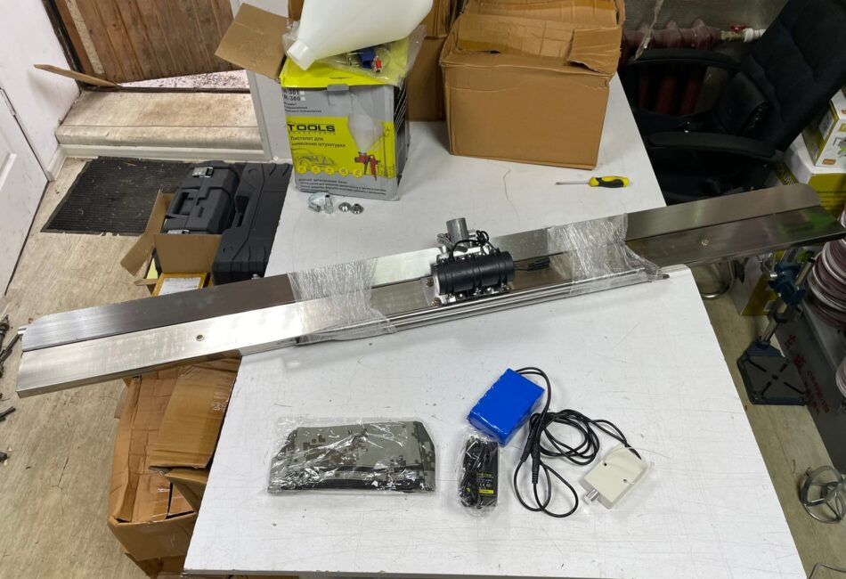 Аккумуляторная ручная плавающая виброрейка для бетона купить